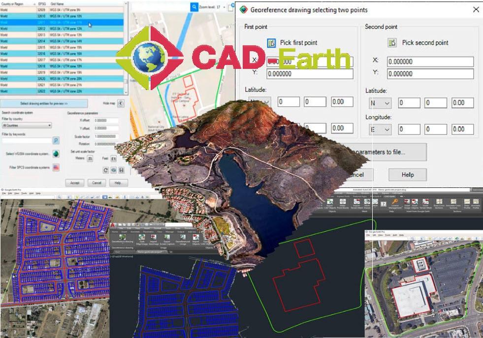 دانلود رایگان نرم افزار CAD-Earth